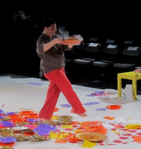Radhouane El Meddeb, dance, food, music.