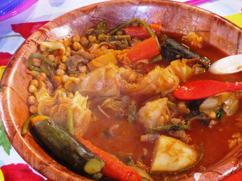 Real Tunisian couscous.