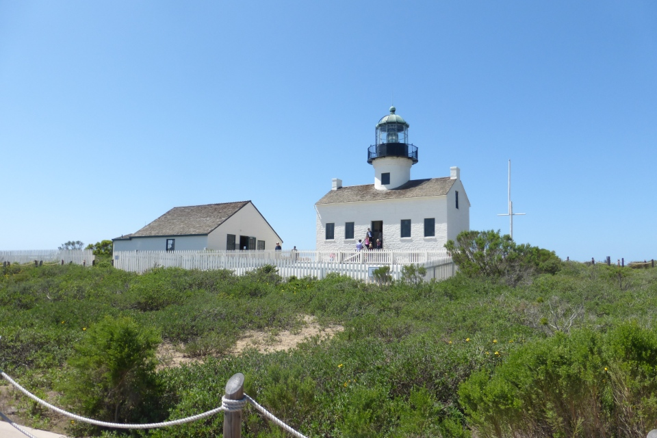 LIGHTHOUSE, CABRILLO POINT.
